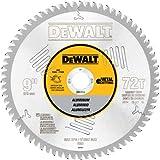 DEWALT DWA7664 72 Teeth Aluminum Cutting 1-Inch Arbor, 9-Inch