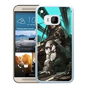 New Custom Designed Cover Case For HTC ONE M9 With Cyborg Fantasy Mobile Wallpaper 1 (2) Phone Case