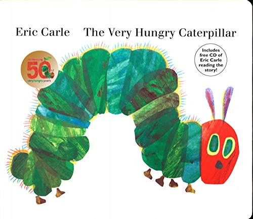 The Very Hungry Caterpillar: board book & CD ()