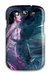 Awesome Lady Warriors Flip Case With Fashion Design For Galaxy S3