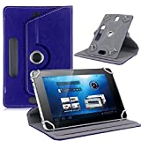 10 inch tablet covers - For 10 inch Android Tablet PC, Mchoice Fashion Universal Leather Flip Case Cover for 10 inch Android Tablet PC (Dark Blue)