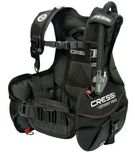 - Cressi Start Pro 2.0, Black/red, XL