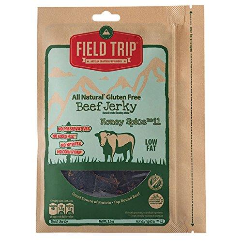 3-Pack Field Trip Beef Jerky, Honey Spice No. 11, 2.2 ()