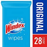 Windex Glass and Surface Wipes, Original, 28 ct