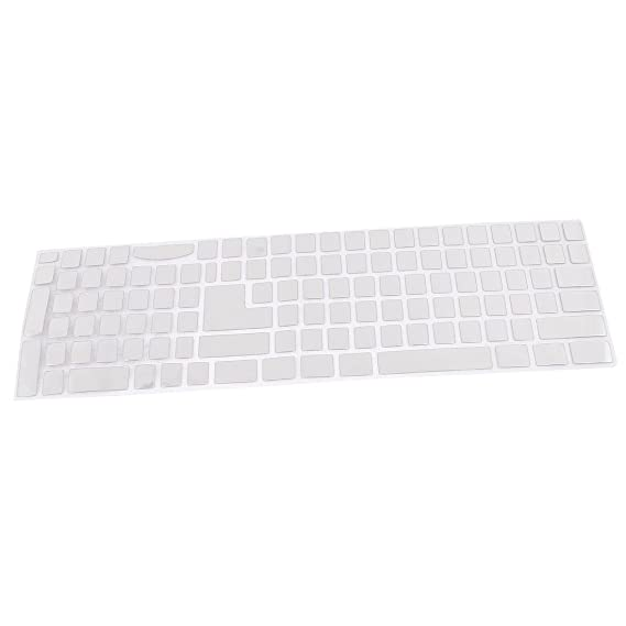 Amazon.com: eDealMax ordenador PC portátil teclado ruso que la etiqueta engomada Negro de Plata del tono: Electronics