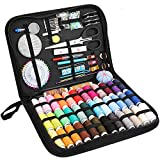 Sewing Kits for Adults,Kids,Girls,Men,Women,College Students,Traveler,Beginners,Emergency,Home. JR.WHITE Deluxe Sewing Kit with 183 Premium Sewing Accessories Included Basic Sewing Threads,Needles etc