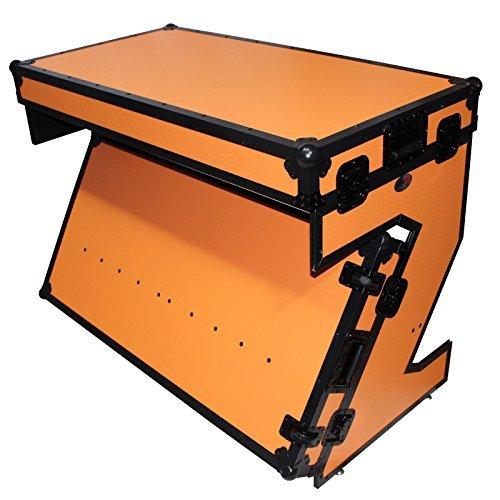 Music Tabletop Controller Digital (ProX XS-ZTABLEOB Portable Z-Style DJ Table Flight Case w/Handles+Wheels)
