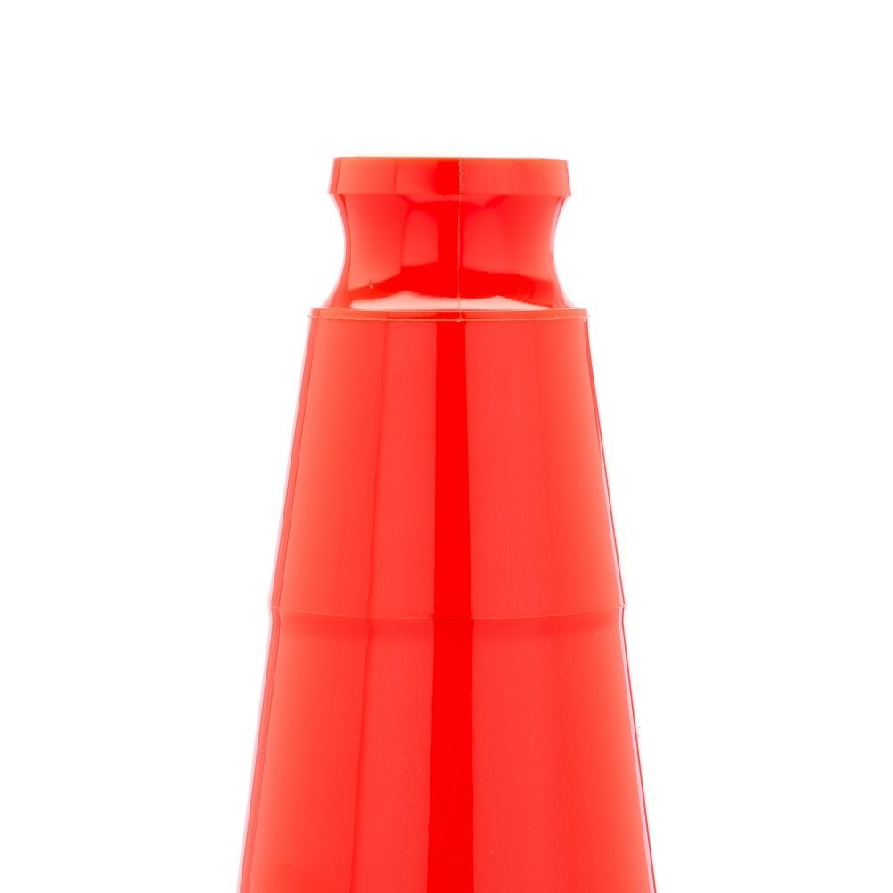 28'' Orange Traffic Safety Cones with Black Base (Pack of 16)