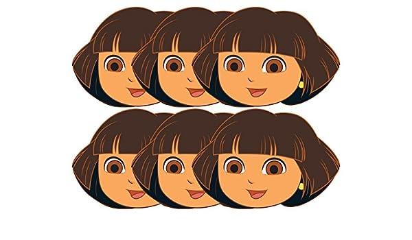 Star Cutouts – stsmp12 – 6 máscaras para Adulto Dora – Dora la ...