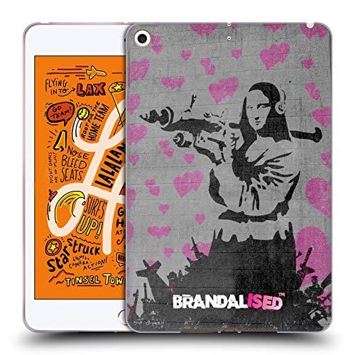 Official Brandalised Mona Launcher Banksy Art Street Vandals Soft Gel Case Compatible for iPad Mini (2019) (Best Tablet Launcher 2019)