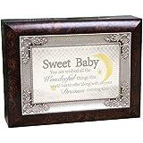 Cottage Garden Sweet Baby Music Box