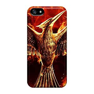 For Iphone 5/5s Protector Case The Hunger Games Mockingjay Phone Cover