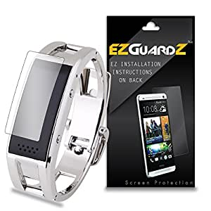 (3-Pack) EZGuardZ Screen Protector for Elephone W1 Smart Bracelet (Ultra Clear)