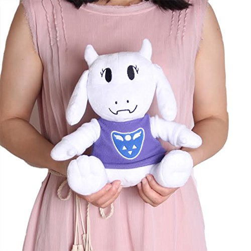 Undertale Toriel Stuffed Doll Plush Toy For Kids Christmas Gifts For Baby, Children By Ancientfrappy