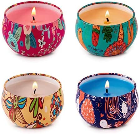 Cross My Heart Collection 2-16 oz Choose Your Scent and Color Soy Candles Hand Poured