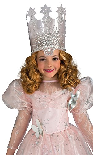 Rubie's Wizard of Oz Glinda The Good Witch Wig, 75th Anniversary Edition White ()
