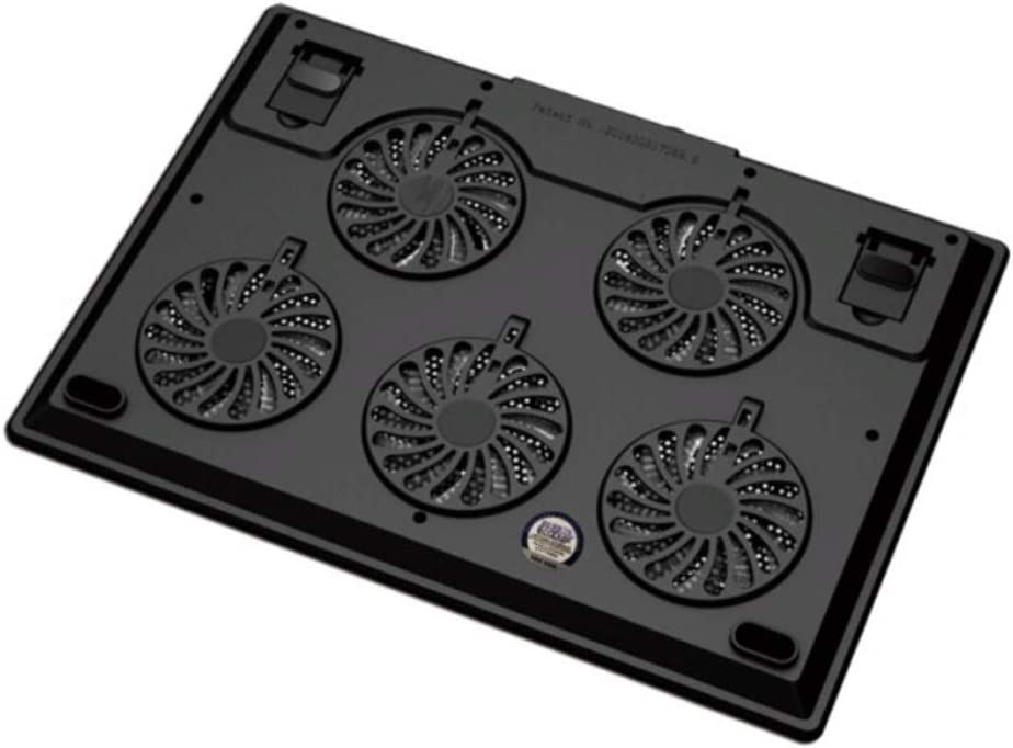 Color : Black Computer Accessories//Bracket//Heat Sink//Cooling Pad//Suitable For15.6 Inch,Comfortable and Practical Yougou01 Notebook Cooler