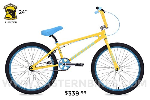 "Eastern Bicycle Commando 24"" Bike (LIMITED EDITION) YELLOW"