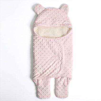 Bañador para bebé recién nacido, sacos de dormir gruesos para bebés cálidos con capucha,