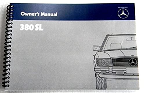 51rtq4dNvxL._SY322_BO1204203200_ 1981 1982 1983 1984 1985 mercedes benz 380sl owners manual w 107 1984 380SL Interior at crackthecode.co