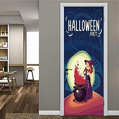 Luna De Dibujos Animados De Halloween Habitación De Los Niños ...