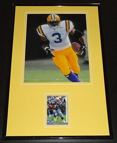 ba750cdff69 Kevin Faulk Autographed Photo - Framed 11x17 Display LSU ...