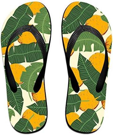 ビーチシューズ フルーツ バナナの葉 ビーチサンダル 島ぞうり 夏 サンダル ベランダ 痛くない 滑り止め カジュアル シンプル おしゃれ 柔らかい 軽量 人気 室内履き アウトドア 海 プール リゾート ユニセックス