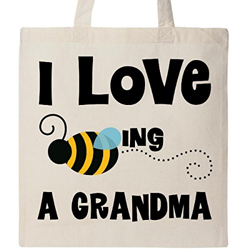 Inktastic - Grandma Honey Bee Tote Bag Natural 21080