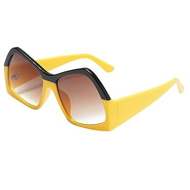 Longra❤️❤️ Moda Mujer decoración Gafas, Gafas de Sol de ...