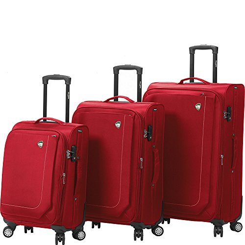 mia-toro-madesimo-softside-spinner-luggage-3-piece-set-red