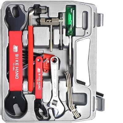 BIKEHAND Bike Bicycle Repair Tools Tool Kit Set