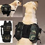 Dog Day Tripper - Travel Pack for Pets - Medium Green