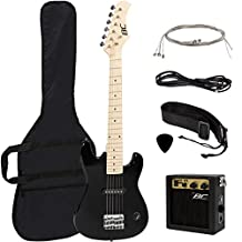 Best Choice Products New 30-Inch Kids Electric Guitar with Amp and Much More Guitar Combo Accessory Kit, Black