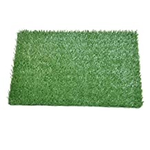 """Pooch Pad Indoor Turf Replacement Grass Dog Potty, Small/18x 18"""""""