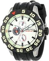 Nautica Men's N16509G BFD 100 Multifunction Luminous Dial Watch by Nautica