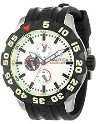 Nautica Mens N16509G BFD 100 Multifunction Luminous Dial Watch