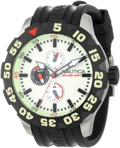 Nautica N16509G Multifunction Luminous Watch