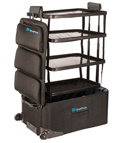 shelfpack revolutionary suitcase with built in shelves buy online in uae apparel. Black Bedroom Furniture Sets. Home Design Ideas