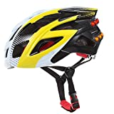 Flying Bird On Wind Bluetooth Audio System Helmets for ATV with Turn Signals SOS Alert Hands-free Call Walkie-Talkie Music Player (Yellow)
