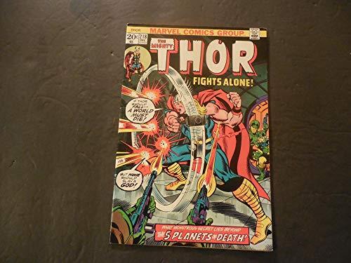 (Thor #218 Dec 1974 Bronze Age Marvel)