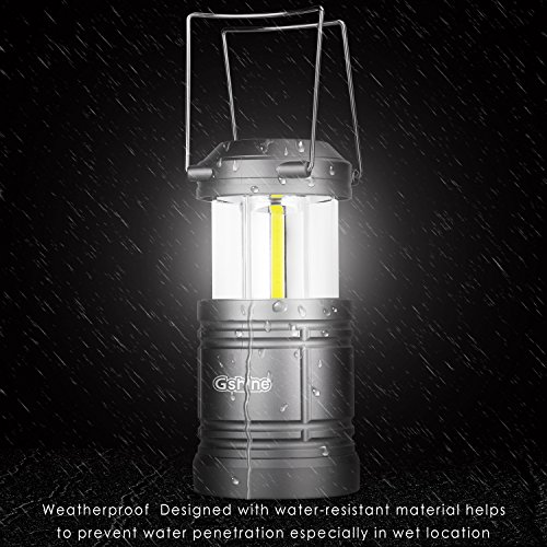 Gshine Camping Lantern Battery Powered - LED Lantern Lights - Import