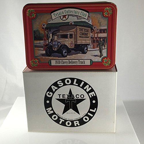 Collector Texaco (ERTL / Texaco Collectors Club 1930 Texaco Chevy Delivery Truck 1:43 Die-Cast In Collector Tin)