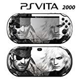 Decorative Video Game Skin Decal Cover Sticker for Sony PlayStation PS Vita Slim (PCH-2000) - Metal Gear Solid