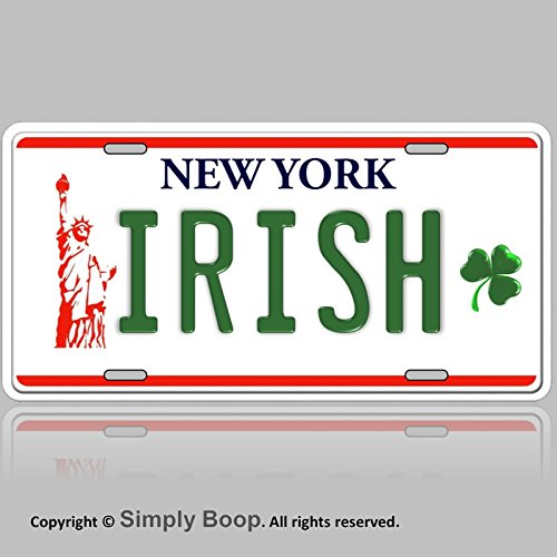 - Forever Signs Of Scottsdale New York Irish Clover Aluminum Vanity License Plate Tag 6