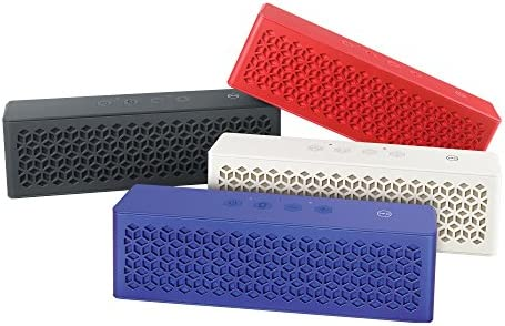 Creative Muvo Mini Pocket-Sized Weather Resistant Bluetooth Speaker with NFC that Delivers Loud and Strong Bass Red