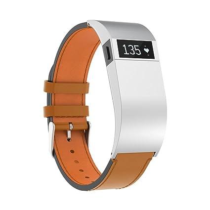 Correa de reloj inteligente con funda y herramienta para Fitbit Charge HR, VNEIRW reloj de
