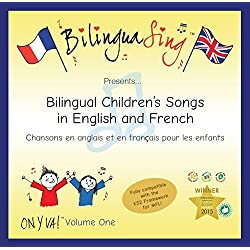 LOVED BY PARENTS! BilinguaSing Sing & Learn | French For Children Song CD (ON Y VA Vol.1)
