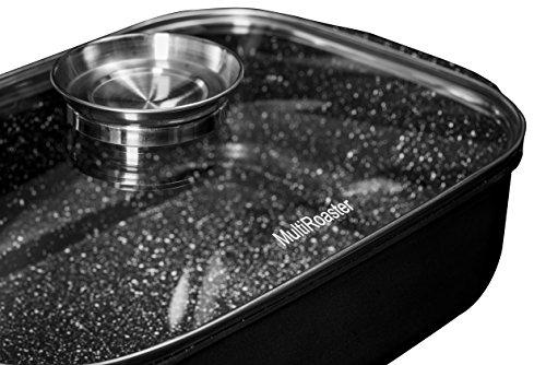 The Multi Roaster Roasting Pan With Innovative Salt Canal