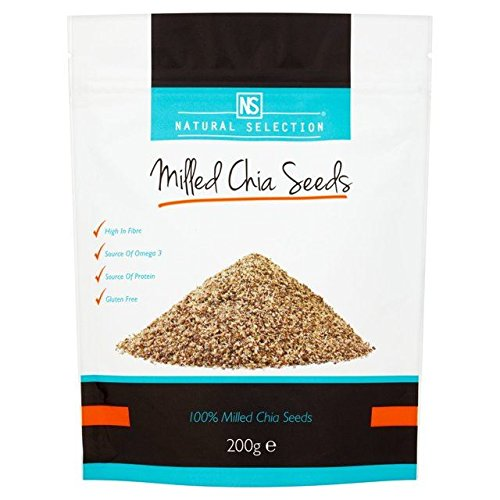 Natural Selection Milled Chia Seeds - 200g (0.44lbs)
