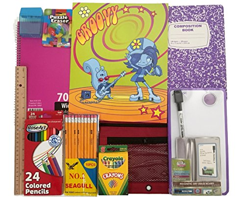 Zombie School Supplies Set Notebook product image